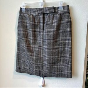 Jcrew wool skirt size 0